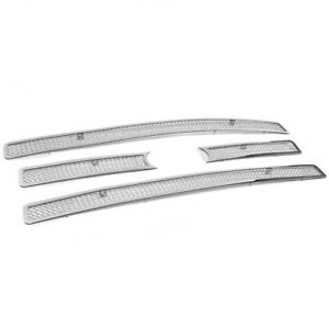 2007 2014 Ford Expedition Truck 4pcs Front Upper Chrome Mesh Grille Grill Insert