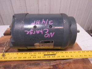 Westinghouse 388 p 345b 3 4hp 180vdc Permanent Magnet Electric Motor