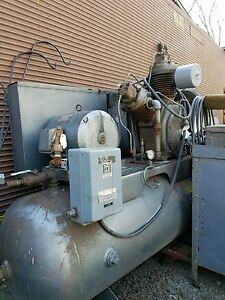 Ingersoll Rand Air Compressor Model 15te Type 30