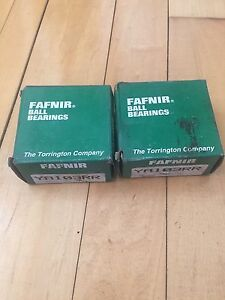 Fafnir Ball Bearing Ya103rr Lot Of 2 New