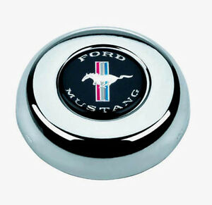 New Grant Horn Button Mustang Center Cap For Classic Challenger Steering Wheel