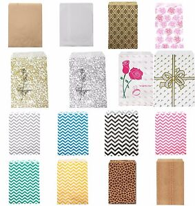 100 Paper Gift Bags Merchandise Bags Retail Bags Jewelry Bags Favor Bags