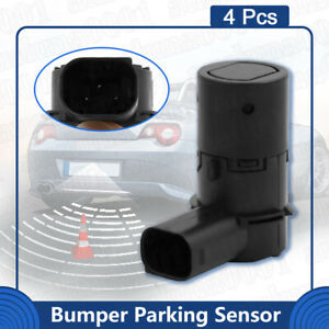 4pcs Pdc Reverse Assist Aid Parking Sensor For Ford E 150 E 250 4f23 15k859 Aa