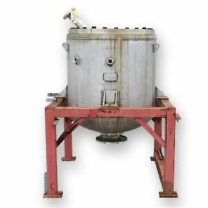 Used Stainless Steel Pressure Tank 25 Cu ft