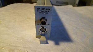 Hp Agilent 81533a Optical Head Interface Module