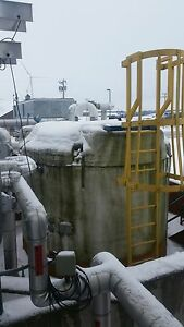 4 400 Gallon Sulfuric Acid Storage Tank Insulated Heated