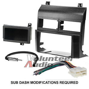 Metra 95 3000b Double Din Dash Car Radio Mount Kit Stereo Install Parts Package