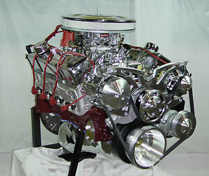 Sbc 350 Cubic Inch Crate Engine 420hp Complete Engine
