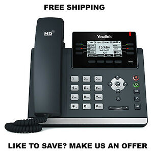 Yealink Yea sip t41s Ip Desk Phone Optima Hd Voice Up To 6 Sip Accounts