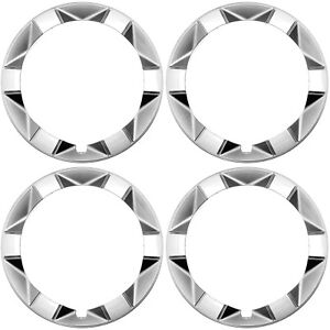 4 Pc Set 15 Inch Beauty Outer Trim Rings Fits Toyota Prius 2004 2009 Hub Caps