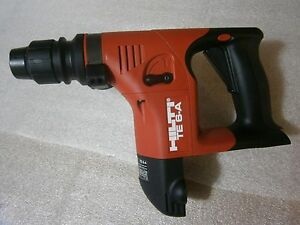 Hilti Te 6 a Cordless Rotary Hammer Drill used