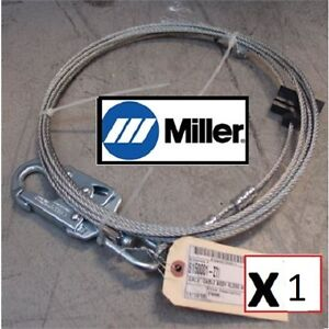 Honeywell Miller Galv Ass y Rl20g 20ft Ansi Z7 Fall Protection Safety Cable