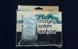 Vintage Silver Beauty Charging System Analyzer