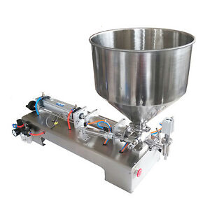 100 1000ml Automatic Filling Machine For Cream honey sauce cosmetic tooth Paste