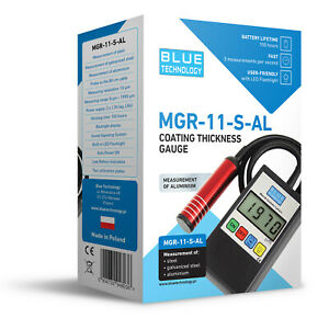 Paint Coating Thickness Gauge Meter Tester Mgr 11 s al