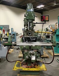 vh3 Sharp Turret type Combination Horizontal vertical Mill 84