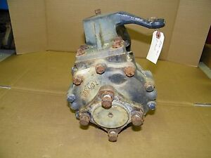 Iseki Tu 150f Landhope Tractor 4wd 4x4 R Front Drive Unit Gears Final Drive
