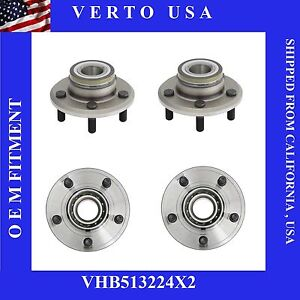 Front Wheel Bearings And Hub Assembly For Chrysler Dodge Vhb513224x2