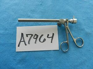 Richards Surgical Ent Telescoping Optical Biopsy Cup Forceps