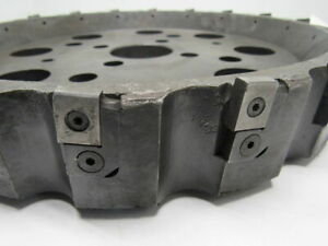 14 Shell Face Mill 2 1 2 Arbor Hole W 18 Inserts Holders