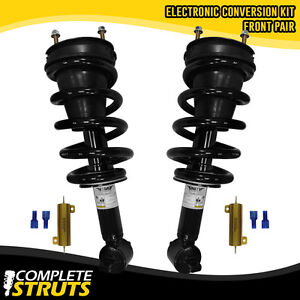 2007 2013 Chevrolet Avalanche Front Strut Conversion Kit With Bypass