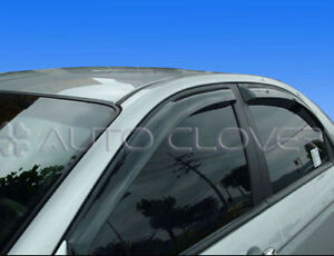 Rain Guard Smoke Window Visor Vent 4p For 2005 2009 Kia Spectra Cerato 4dr