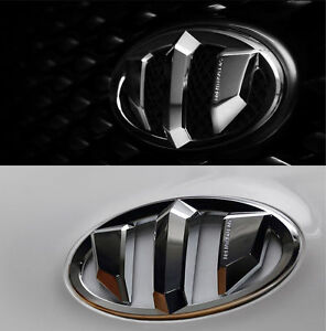 Brenthon Front Rear Steering Wheel Emblem 3p For Genesis Coupe