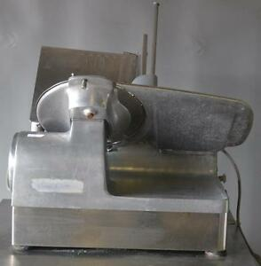 Used Hobart 1712 Meat Cheese Deli Slicer With Sharpener Free Shipping