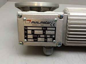 Mini Motor Conveyor Drive Motor Mc110pt