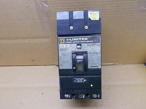 Square D I limiter Current Limiting Circuit Breaker If36100 100a 3 Pole