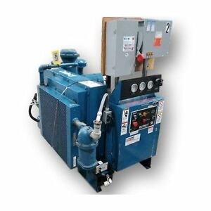 Used 40 Hp Quincy Rotary Screw Air Compressor Qsb Series
