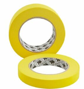 Indasa 556771 1 1 2 automotive Refinish 1 5 Yellow Masking Tape 24 Rolls 1 Case