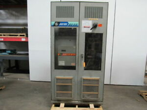 Ge 7vnes030cd05 500hp Adjustable Speed Ac Drive System In Cabinet 500v 830a