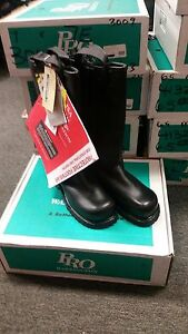 Warrington Pro Leather Turnout Boots 3009 7eee