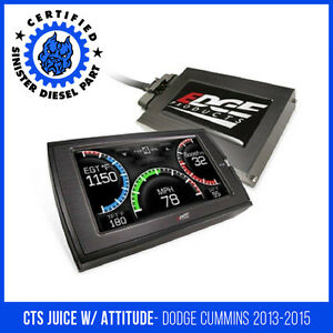 Edge Cts Juice With Attitude For 2013 2015 Dodge Cummins 6 7l