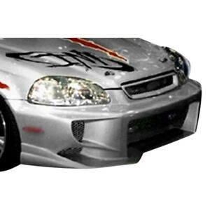 Kbd Body Kits Ex Spec Polyurethane Front Bumper Fits Honda Civic All 96 98