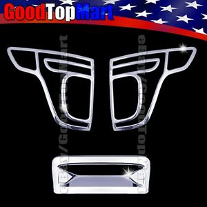 For Ford Explorer 2011 2012 2013 2014 2015 Chrome Covers Set Tail Light Tailgate