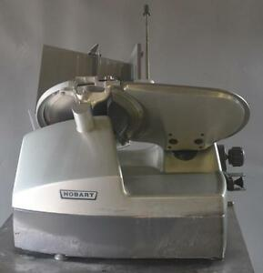 Used Hobart 2912c Commercial Meat Deli Slicer Excellent Working Condition Free
