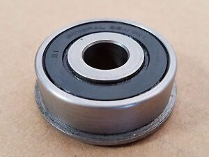 Flanged Bearing 7 16 Id X 1 3 8 Od Sealed Both Sides Lot Of 4