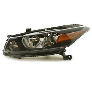 08 12 Accord Coupe Headlight Headlamp Front Head Light Lamp Left Driver Side Dot