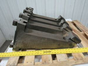 Milling Machine Hold Down Clamp Arm 12 1 4 X 3 Slotted Base Lot Of 4