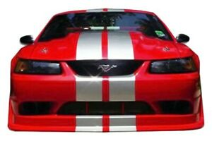 Kbd Body Kits Cobra R Style Polyurethane Front Bumper Fits Ford Mustang 99 04