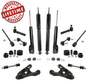Shock Absorbers Control Arms Sway Bar Links Tie Rods For Ford Mustang 1999 2004