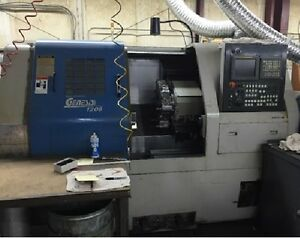 Ikegai Genesis 1208 Cnc Lathe Turning Center