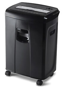 Aurora Au1250xb 12 sheet Crosscut Paper And Credit Card Shredder With Pullout Ba