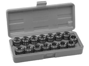 Sowa Er 20 Collet 15pc Set 1 16 1 2 free Shipping