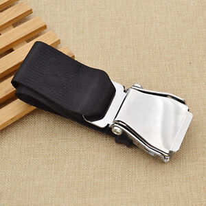 Adjustable Airplane Seat Belt Extension Extender Aircraft Seatbelt Safe Parts