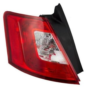 New Tail Light Lens And Housing Fits 2010 2012 Ford Taurus Left Side Fo2818149