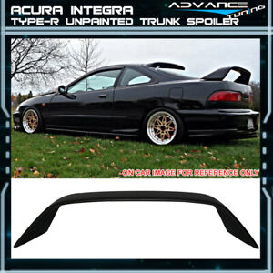 Fits 94 01 Acura Integra Db8 Dc2 Type R Hatchback Trunk Spoiler Wing Abs