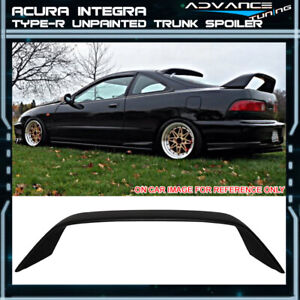 Fits 94 01 Acura Integra Db8 Dc2 Type R Hatchback Coupe Trunk Spoiler Wing Abs